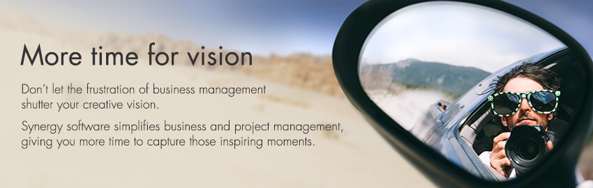 With Synergy project management software, architects and engineers get more time for vision.