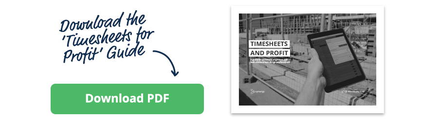 Timesheets and profit guide - download