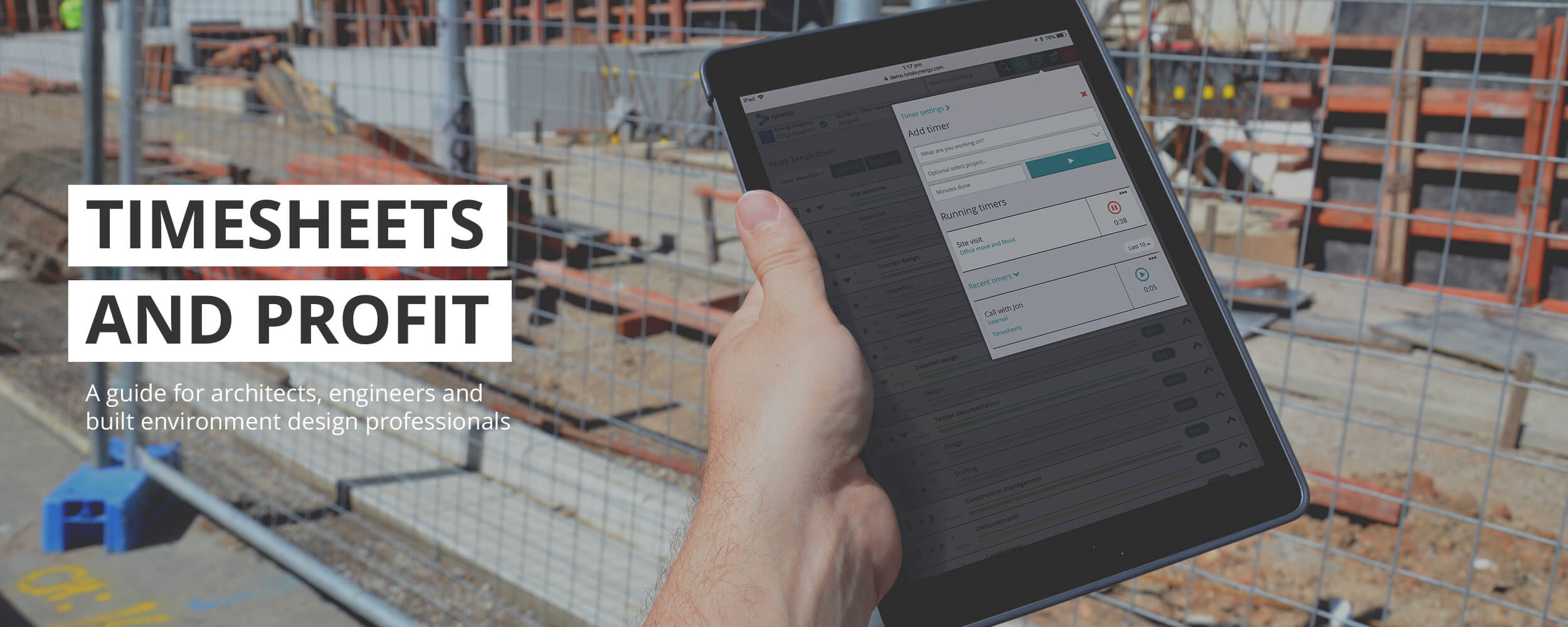 A guide to timesheets for visibility and profit for architects, engineers, and construction design professionals.