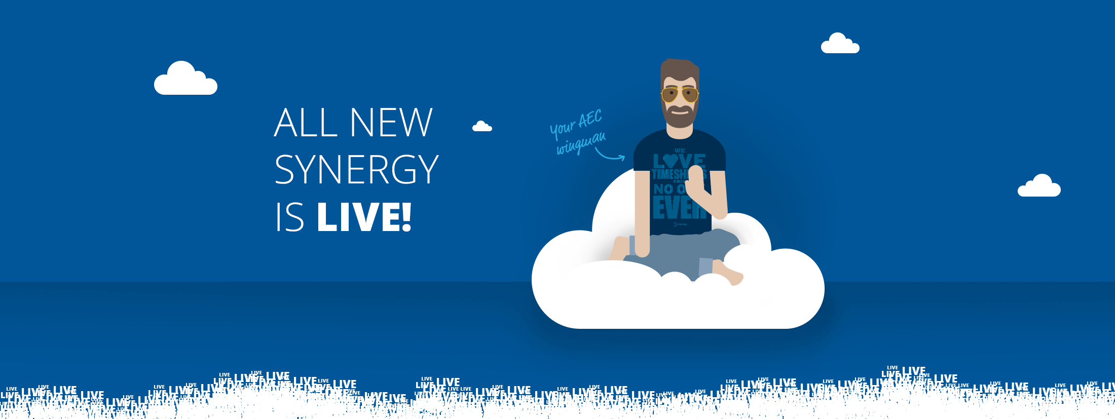 All new Synergy is live. Check out our new website and start a 30 day free trial.