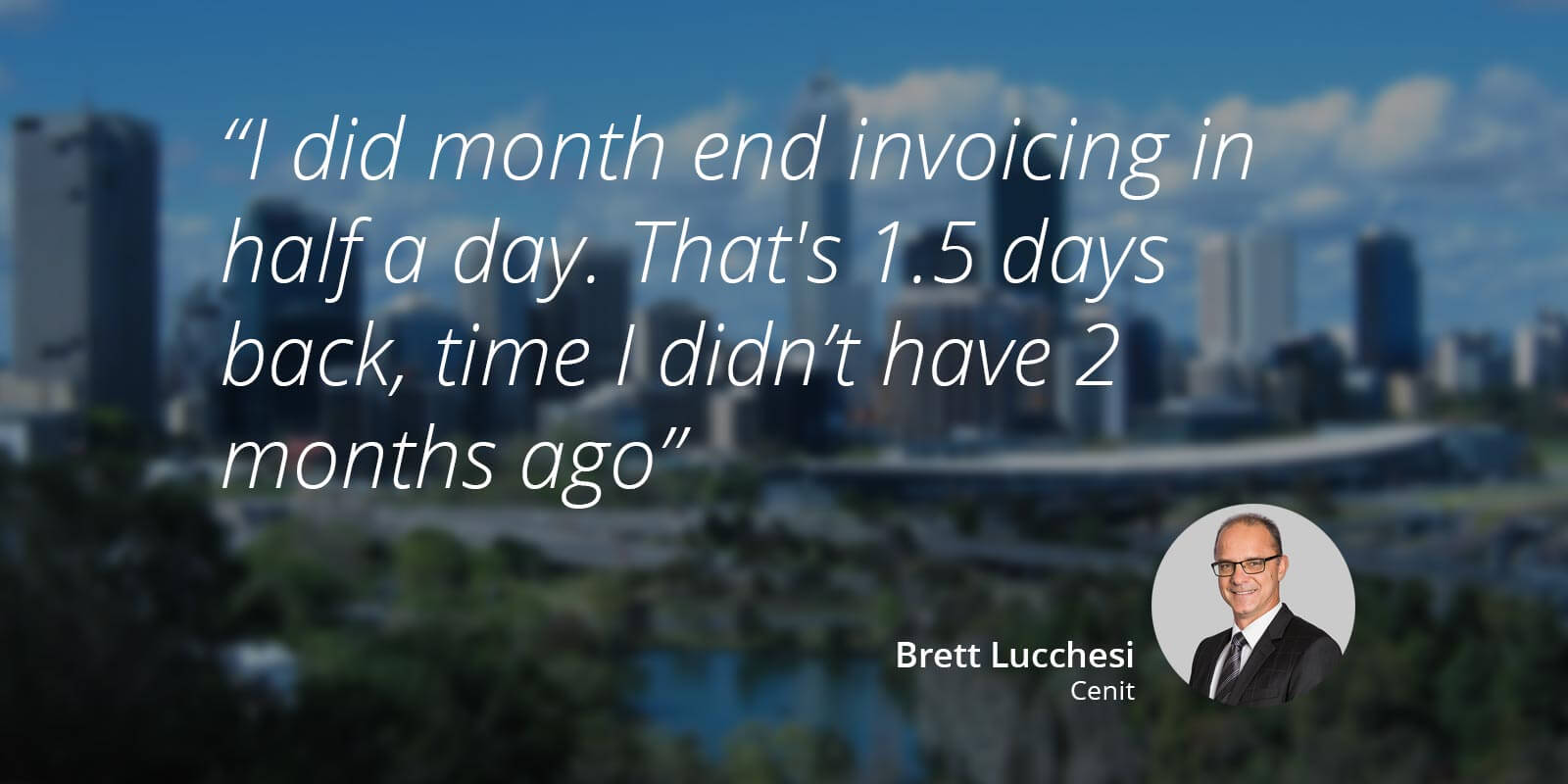 Interview with Brett Lucchesi, managing director of Cenit Structural Engineers.