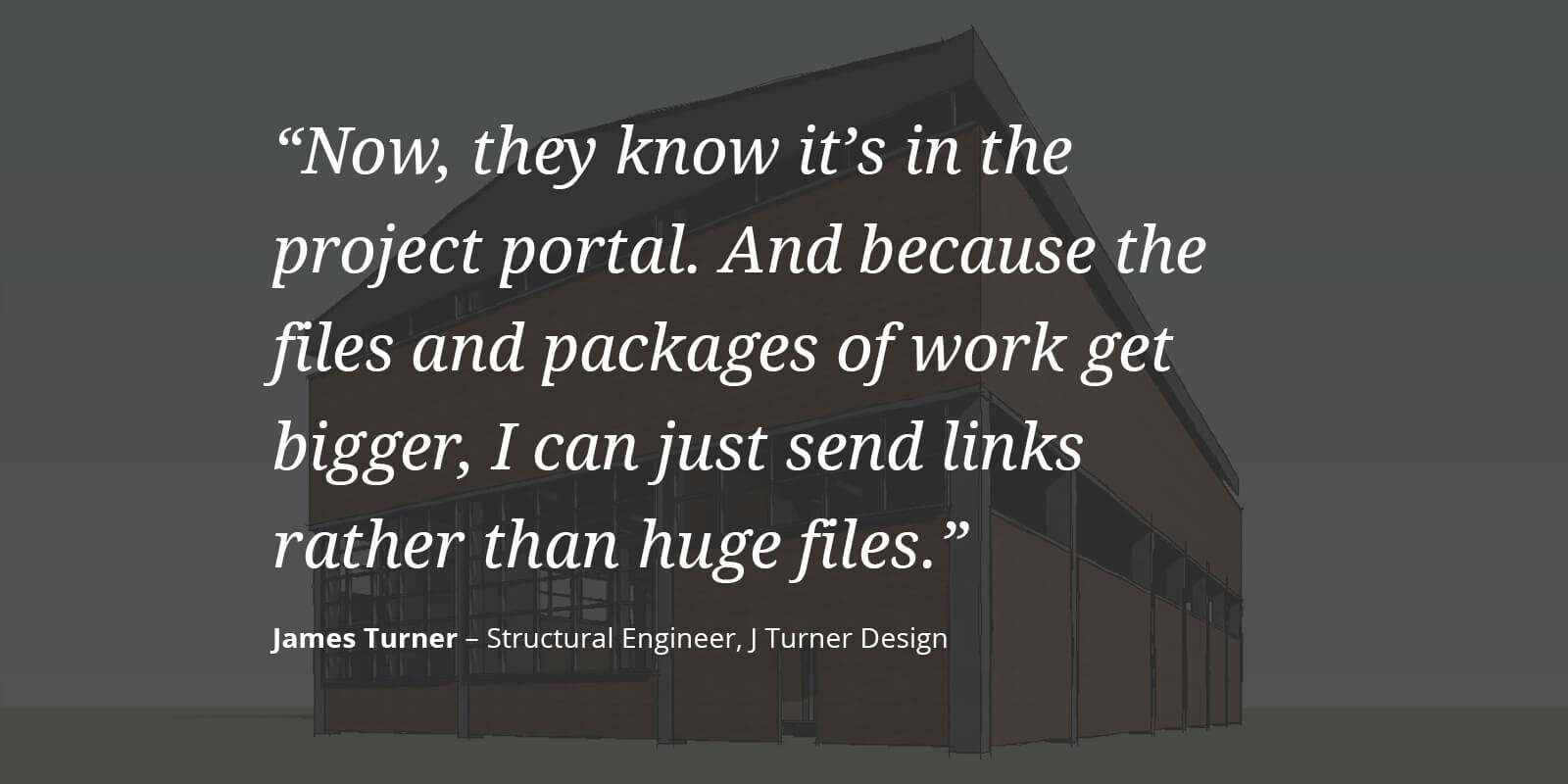 James Turner, director of J Turner Design, uses technology to punch above his weight.