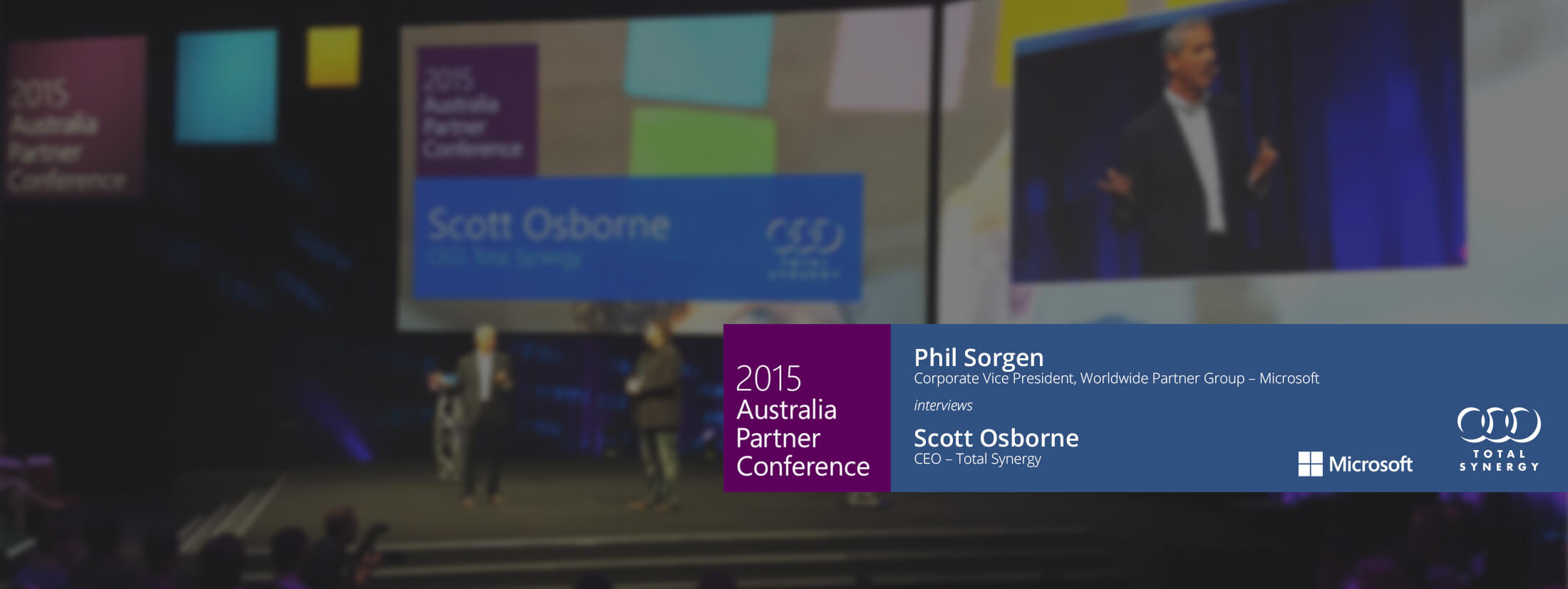 Microsoft interviews Total Synergy CEO Scott Osborne about the success the company has experienced from its shift to digital marketing.