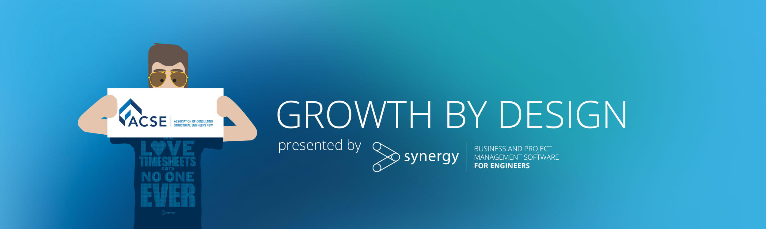 Total Synergy welcomes ACSE members to its Growth by Design event.
